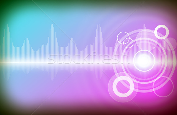 Colorful background with circles Stock photo © cherezoff