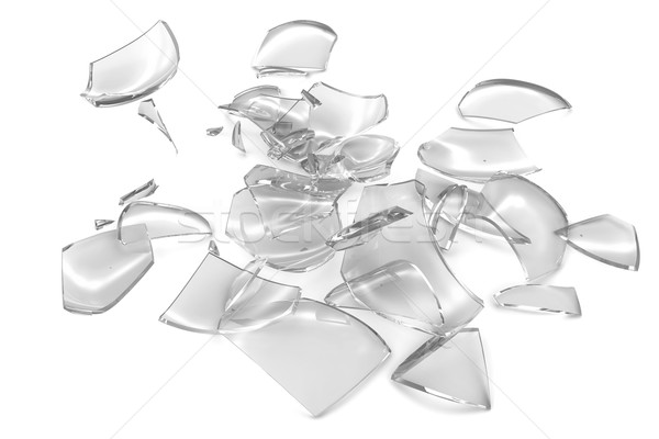 Broken glass Stock photo © cherezoff