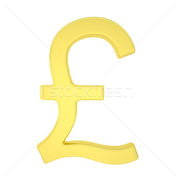 Gold pound Stock photo © cherezoff
