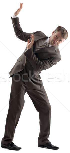 Man defending himself Stock photo © cherezoff