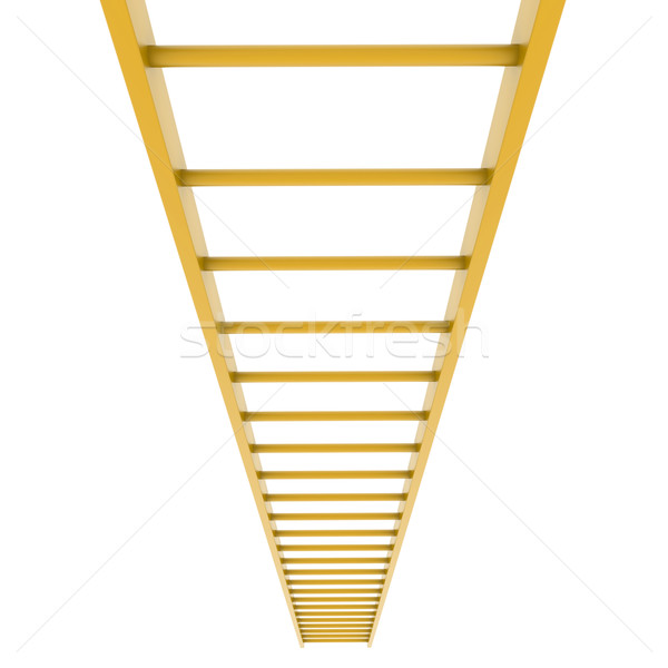 Gold ladder Stock photo © cherezoff