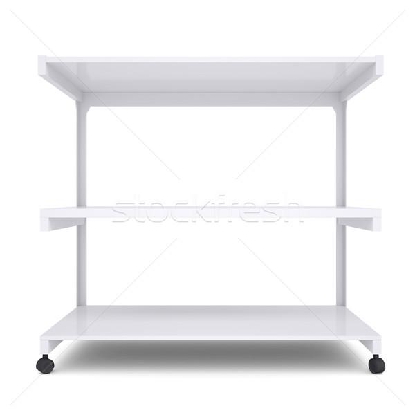 Office shelving unit on wheels Stock photo © cherezoff