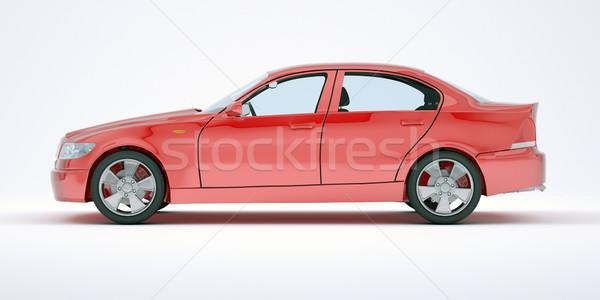 Red car Stock photo © cherezoff