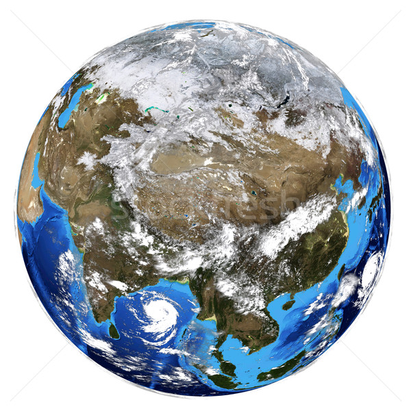 Photorealistic Earth Stock photo © cherezoff