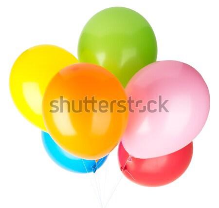 Childrens party balloons Stock photo © cherezoff