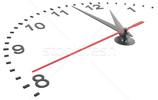 Clock face with numbers Stock photo © cherezoff