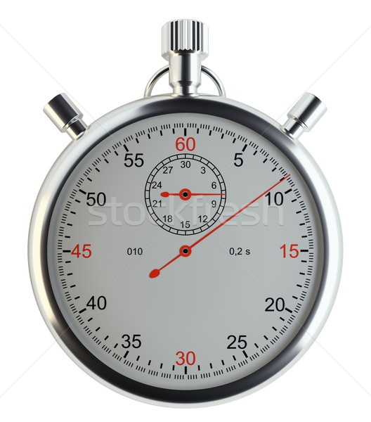 Stopwatch, front view Stock photo © cherezoff
