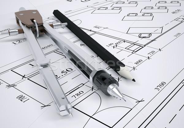 Arquitet nico desenho engenharia ferramentas for Architecture drawing tools