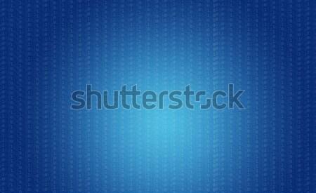Kaynak kod teknoloji mavi sayılar bilgisayar Stok fotoğraf © cherezoff