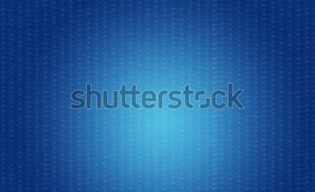 Bron code technologie Blauw nummers computer Stockfoto © cherezoff