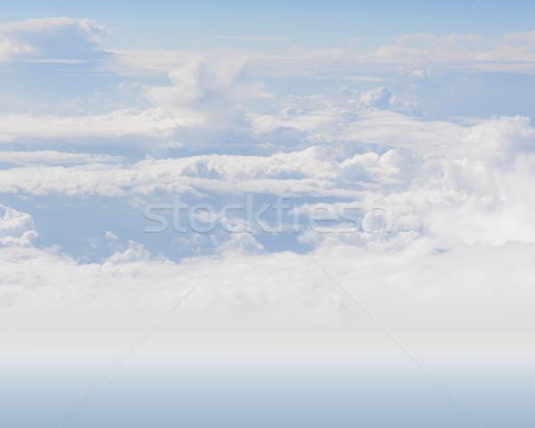 白 雲 天国 壁紙 背景 デザイン ストックフォト © cherezoff