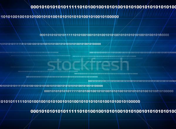 Modern göstermek veri kaynak kod programlama Stok fotoğraf © cherezoff