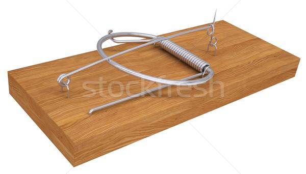 Mousetrap Stock photo © cherezoff