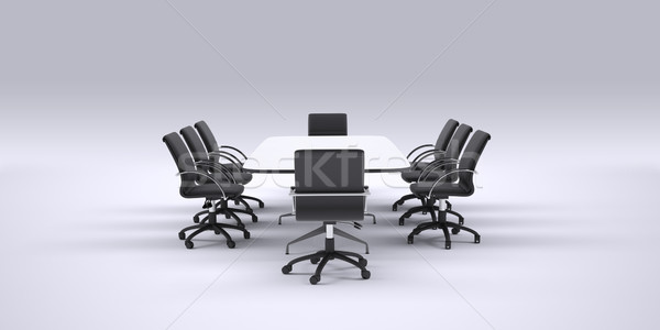 Business conference table with chairs Stock photo © cherezoff