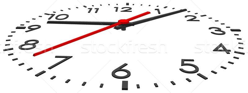 Stock photo: Clock face. Vector