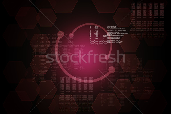 Abstract red background Stock photo © cherezoff