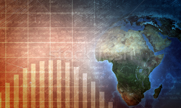 Ziemi świecie matrycy technologii elementy obraz Zdjęcia stock © cherezoff