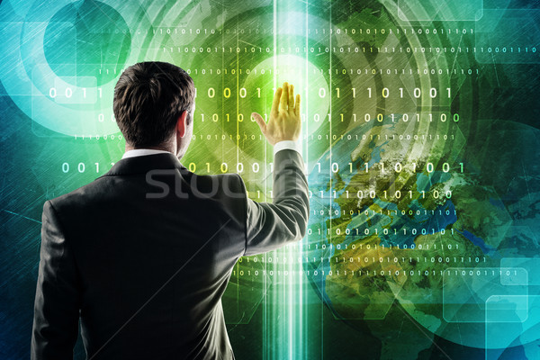 Business and social networking concept Stock photo © cherezoff