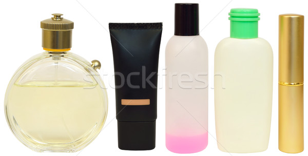 Bottles with cosmetics Stock photo © cherezoff