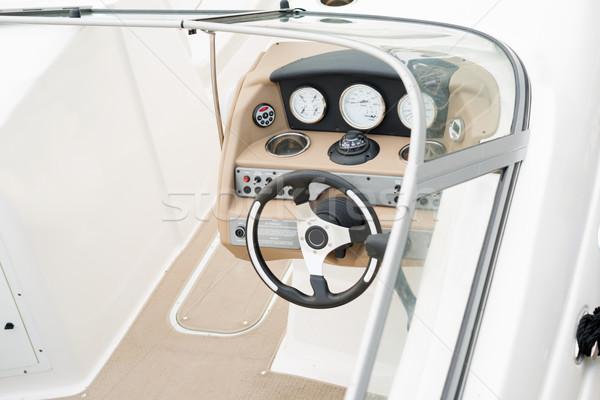 Interior iate cabine ver esportes Foto stock © cherezoff