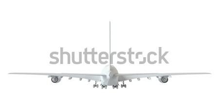 metal calipers standing horizontally. 3D rendering Stock photo © cherezoff