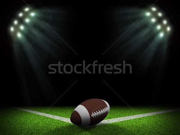1泊 サッカー アリーナ ボール コーナー ストックフォト © cherezoff