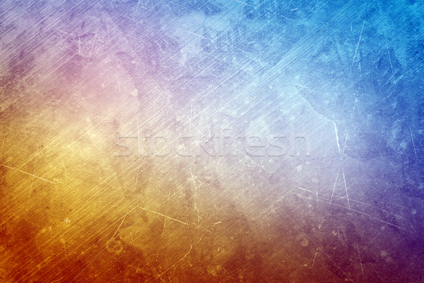 Abstract blue and yellow background Stock photo © cherezoff
