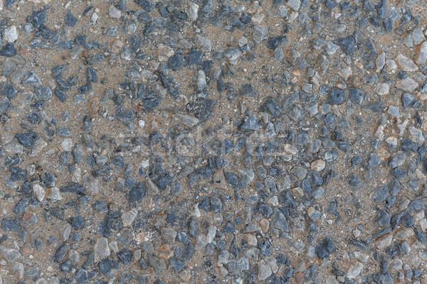 The gray chippings Stock photo © cherezoff