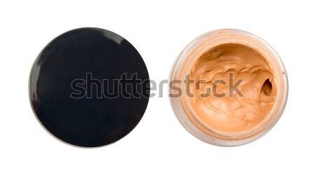 Líquido base contenedor aislado blanco cosméticos Foto stock © cherezoff