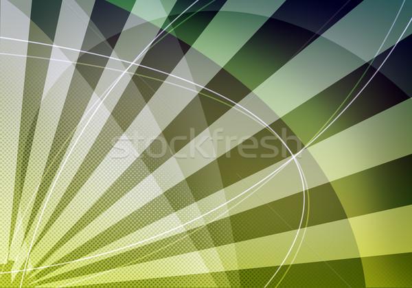 Abstract green background Stock photo © cherezoff