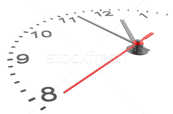 Clock and timestamp with numbers Stock photo © cherezoff