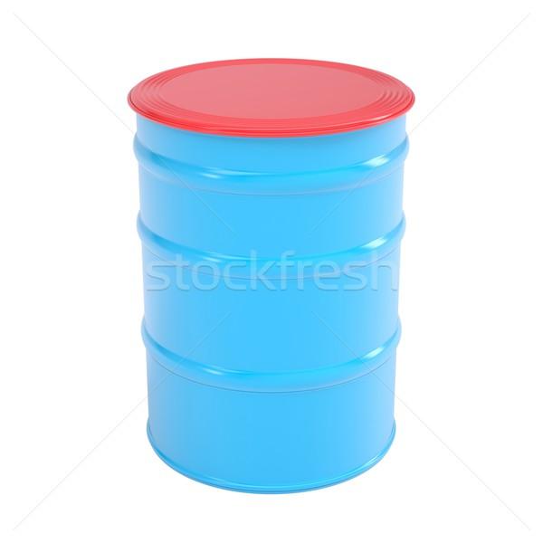 Blue barrel Stock photo © cherezoff