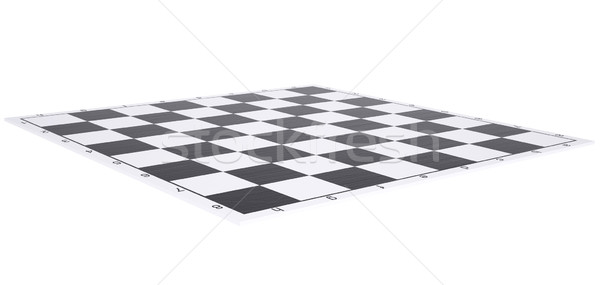 Empty chessboard Stock photo © cherezoff