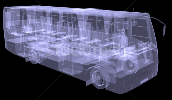 Big bus. X-ray Stock photo © cherezoff