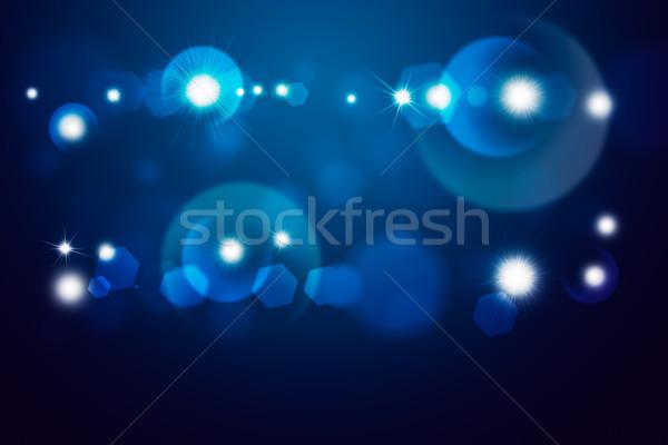 Blue light beam Stock photo © cherezoff