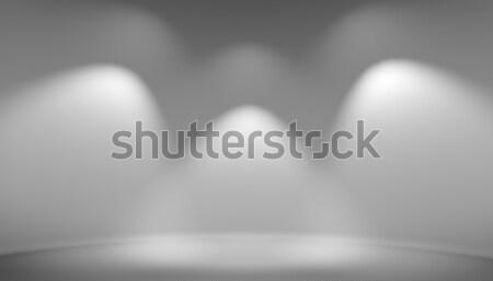 Illuminated space for exposition Stock photo © cherezoff