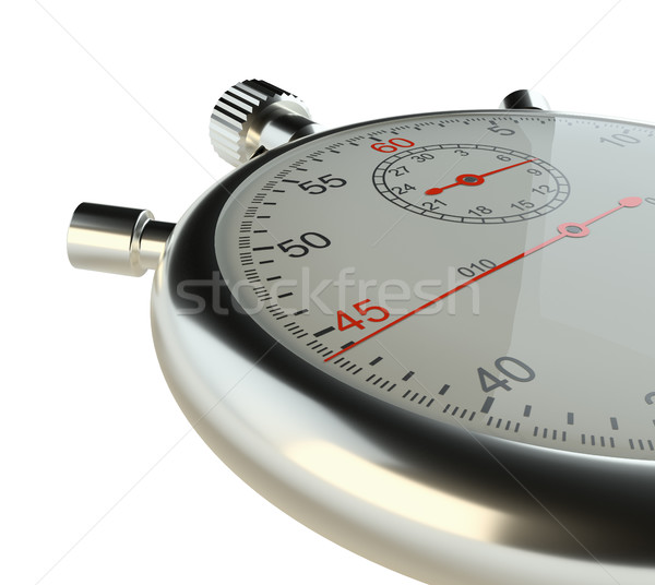 Stopwatch. Isolated on white Stock photo © cherezoff