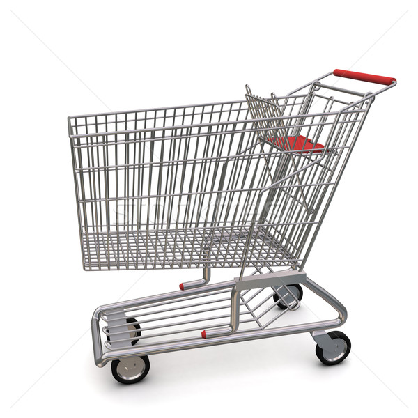 trolley from the supermarket Stock photo © cherezoff
