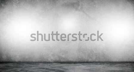 Beton lege kamer interieur inhoud 3D Stockfoto © cherezoff