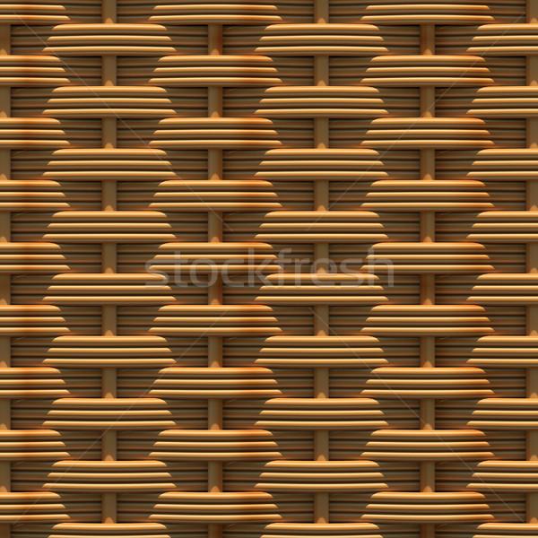 Természetes minták 3d render fa építkezés fal Stock fotó © cherezoff