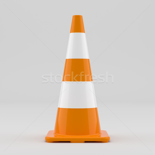 Orange traffic cone Stock photo © cherezoff