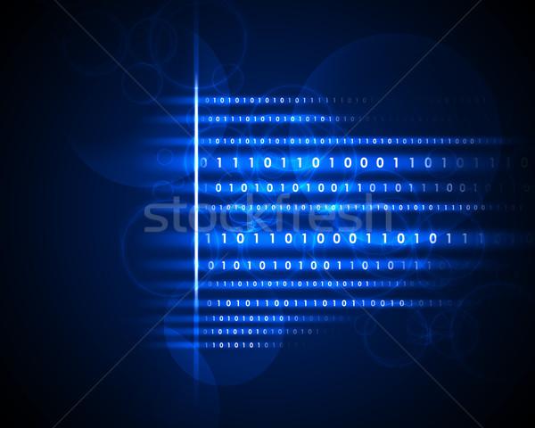 Круги аннотация технологий информации данные Сток-фото © cherezoff
