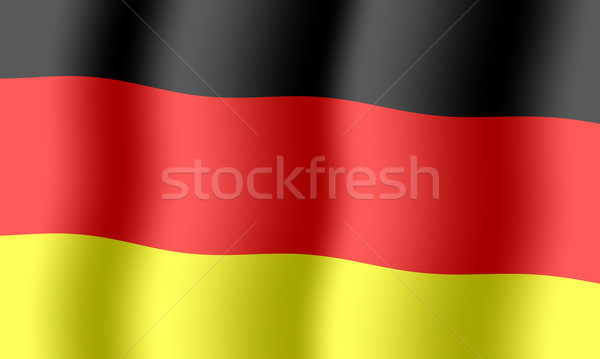 German flag background Stock photo © cherezoff