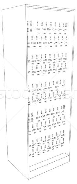 Picture of server Stock photo © cherezoff