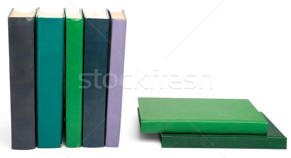 книгах красочный изолированный белый Сток-фото © cherezoff