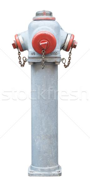 Fire hydrant on white Stock photo © cherezoff