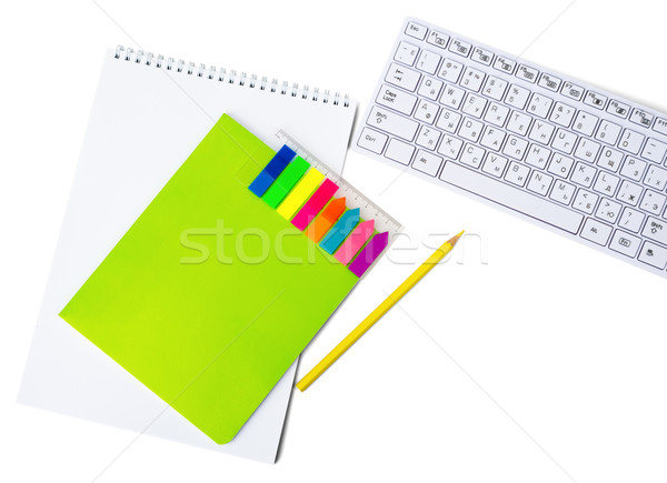 Notebooks with keyboard Stock photo © cherezoff