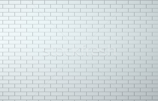White brick wall background Stock photo © cherezoff