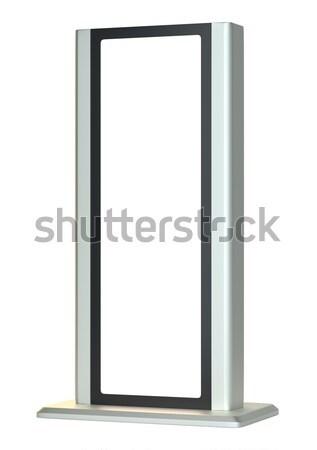 Outdoor lightbox. Advertising Stand Stock photo © cherezoff