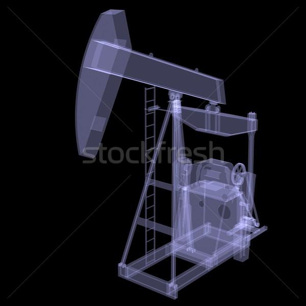 Oil pump. X-ray Stock photo © cherezoff